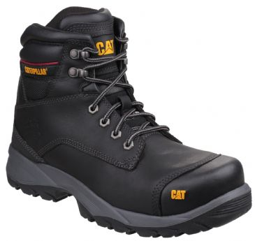 Caterpillar CAT Spiro Work Safety Boots (Black)